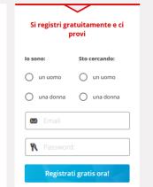 GayParship Registrazione
