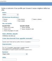 GetItOn Registrazione
