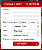 Nirvam Registrazione