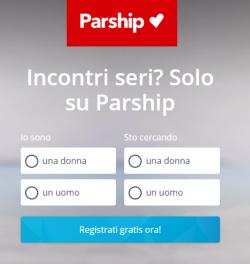 Parship Registrazione
